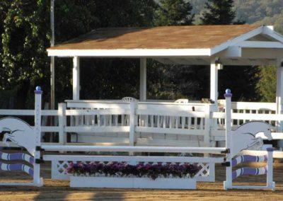 DeVito Equestrian Center Riding-Arena-Spectator-Booth